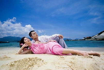 拍出最美丽的风景和我们的爱 拍婚纱照攻略