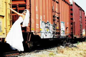另类婚纱照欣赏有创意才有激情【3】