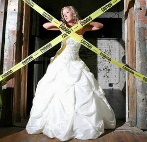 另类婚纱照欣赏有创意才有激情【4】