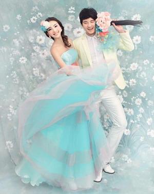 最新韩版婚纱照   与生俱来的性感魔力【1】