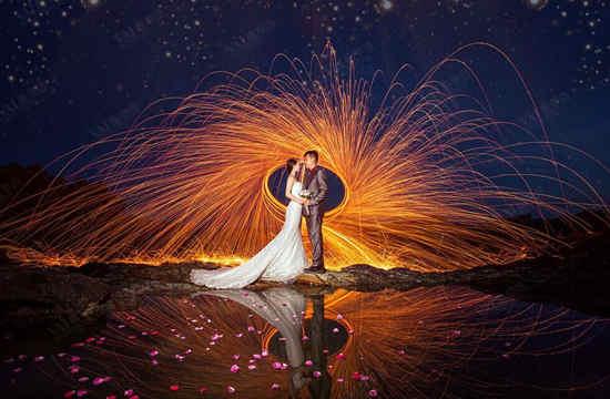 拍照技术_夜景婚纱摄影技巧 夜景婚纱照怎么拍