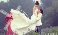 波西米亚风格婚纱照欣赏 与大自然亲密接触