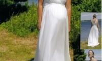 优雅美丽的孕妇婚纱照图片欣赏