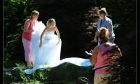 在美国,新娘怎样拍婚纱照