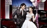 韩国热播剧荧屏夫妻的婚纱照图片欣赏