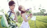 春光无限!春日烂漫婚纱照欣赏