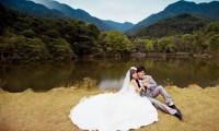 浪漫唯美外景婚纱照片欣赏