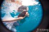 拍水下婚纱照的注意事项 展现唯美的水下童话