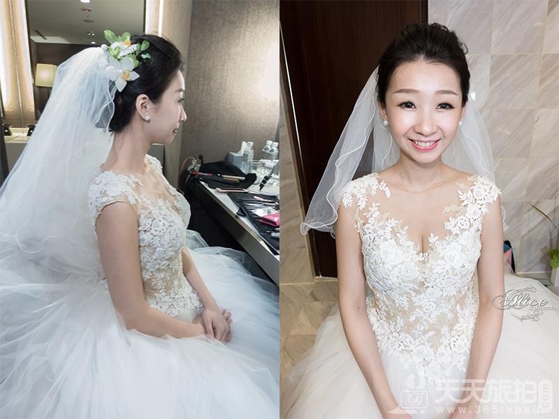 短发新娘必看 简单打造属于妳的独有气质【2】