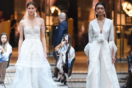 2018婚纱系列出炉 10款遮手臂之选