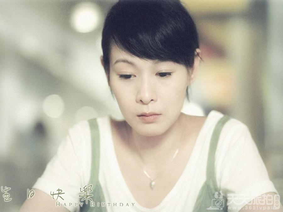 奶茶结婚了 刘若英婚纱照图片欣赏