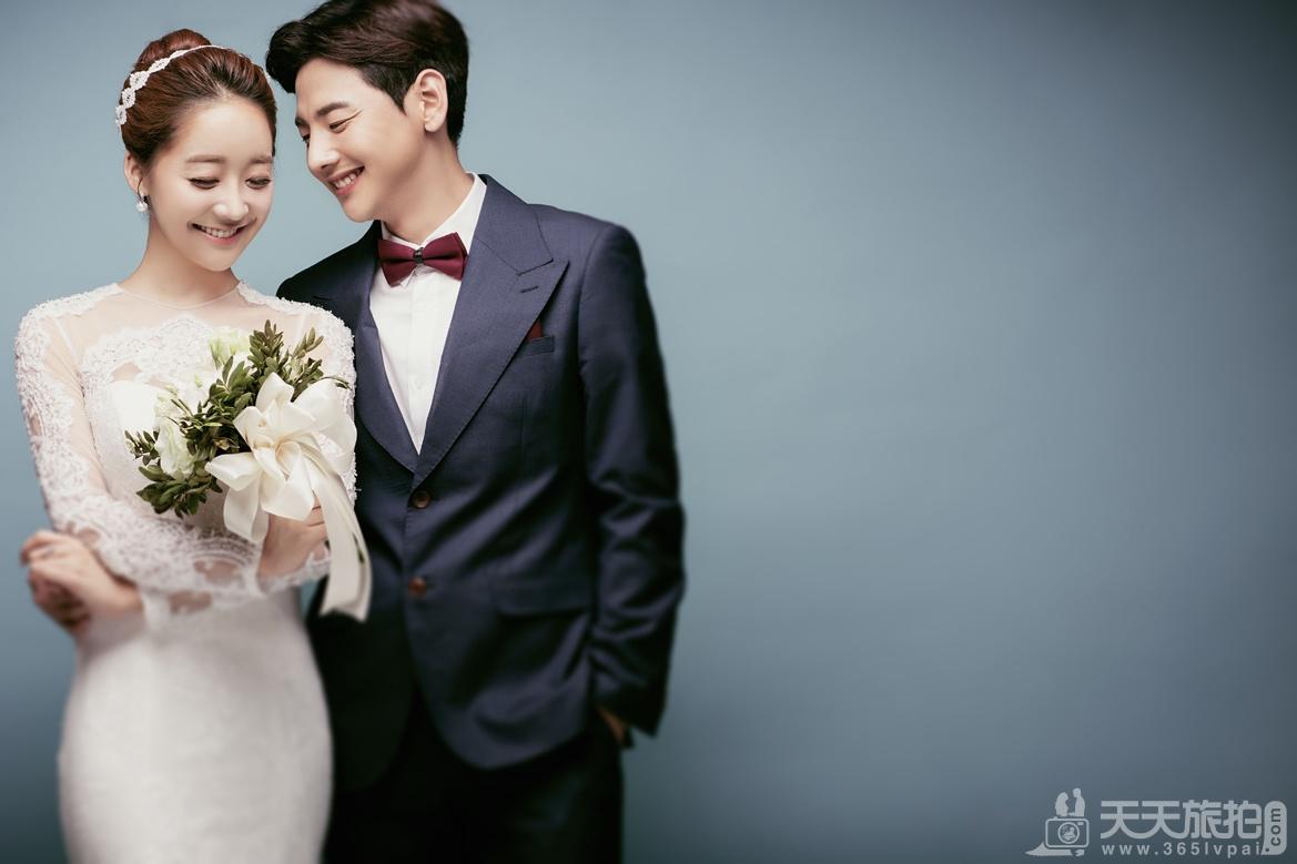 韩式风格婚纱照介绍今天你笑了吗