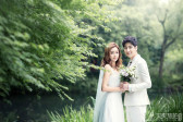 韩式风格婚纱照 营造出浪漫的气息
