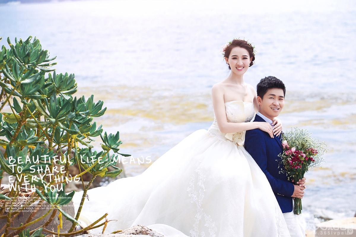 近视新娘如何拍摄完美婚纱照