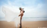 韩式唯美婚纱照图片 摄影棚内的独家记忆