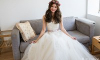 长发新娘造型 为你打造最美时刻
