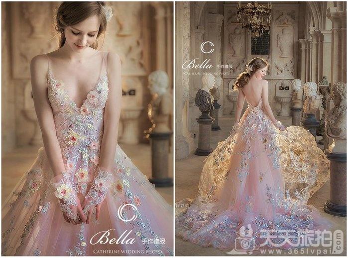 美到极致Bella手工婚纱,每一件都想要打包带回家【14】