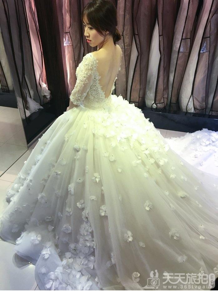 美到极致Bella手工婚纱,每一件都想要打包带回家【22】