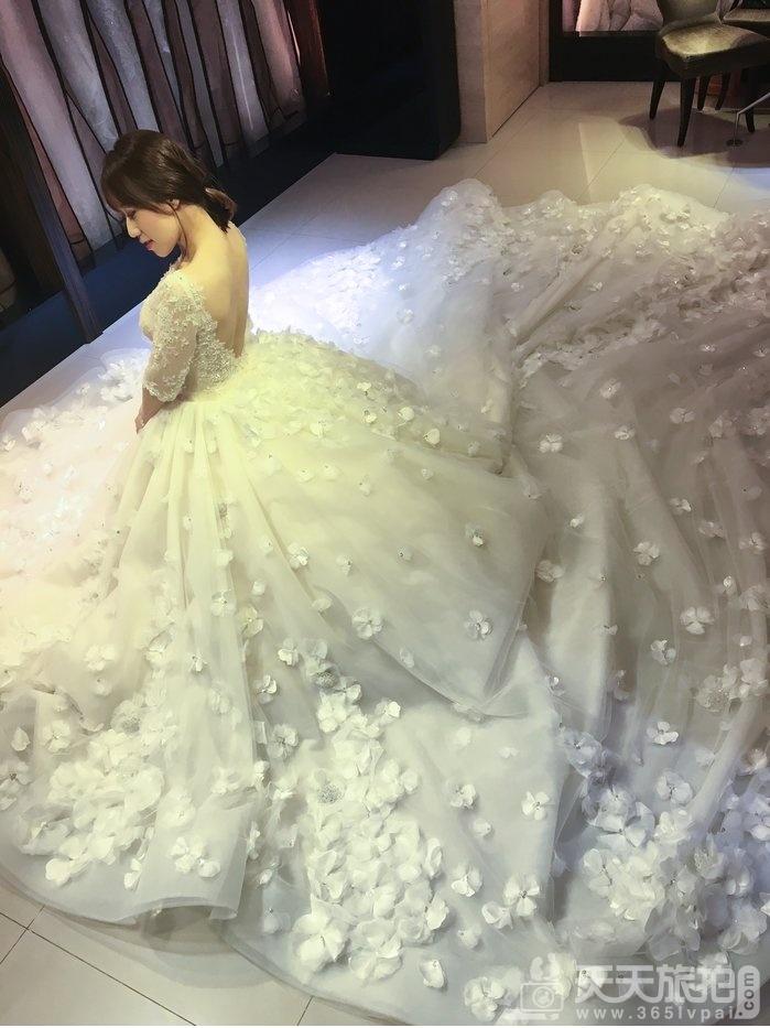 美到极致Bella手工婚纱,每一件都想要打包带回家【24】
