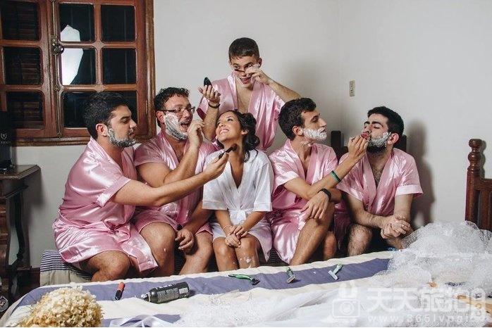 谁说婚礼一定要伴娘?最帅男伴娘也能陪你玩疯告别身趴【7】