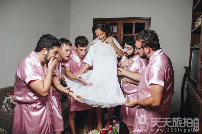 谁说婚礼一定要伴娘?最帅男伴娘也能陪你玩疯告别身趴【9】