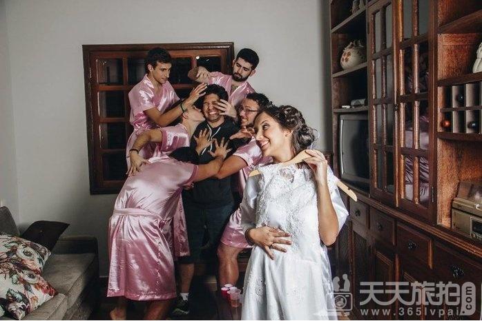 谁说婚礼一定要伴娘?最帅男伴娘也能陪你玩疯告别身趴【10】