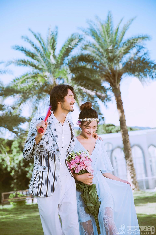 浪漫婚纱照,是80后90后所向往的婚纱摄影