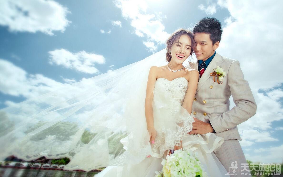婚纱摄影之轻松摆好人像摄影姿势