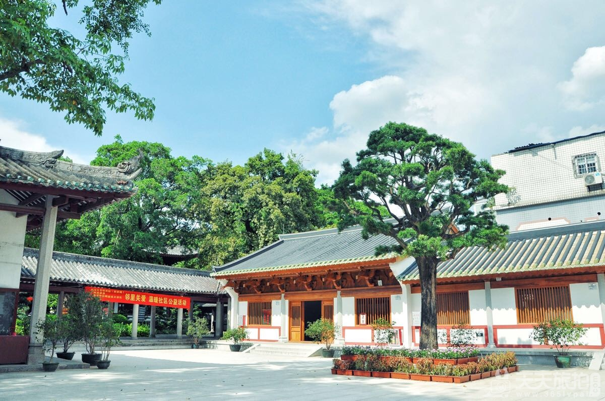 广州外景婚纱拍摄地之越秀光孝寺