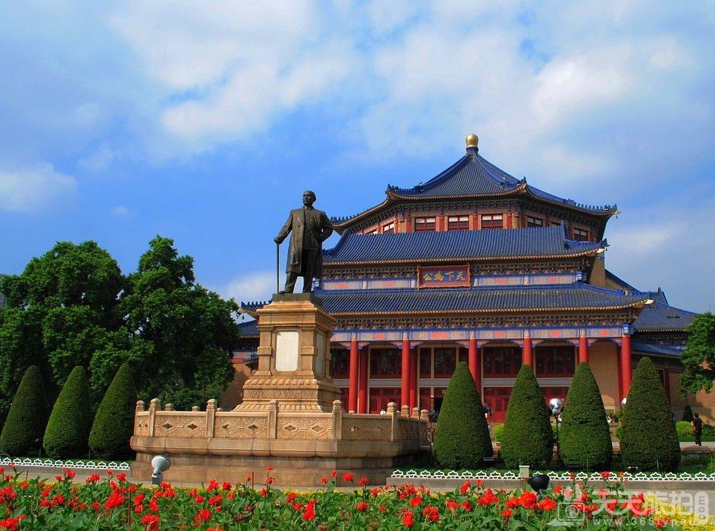 广州外景婚纱拍摄地之中山纪念堂