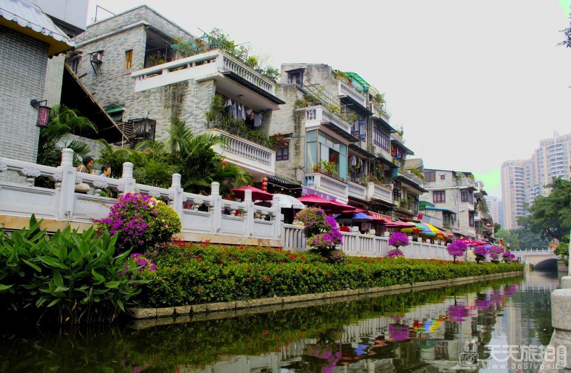 广州外景婚纱拍摄地之荔湾游船