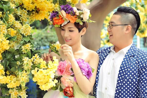 夏季婚纱照 新人适合什么风格 婚礼猫