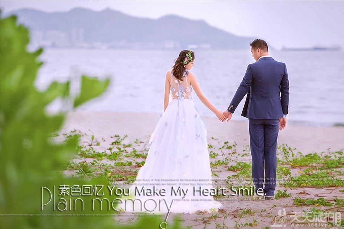 三亚拍婚纱照的地方有哪些 四个外景好地方推荐(三亚湾椰梦长廊)