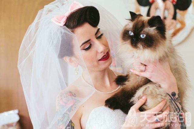 超萌草尼马伴娘出动 整场婚礼就给牠们当主角就好啦【4】