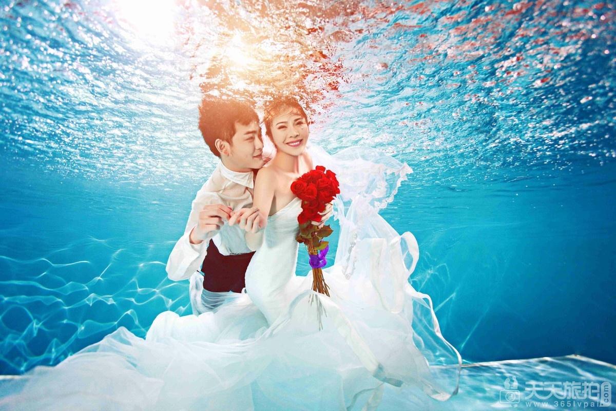浪漫海边婚纱照拍摄注意事项有哪些?