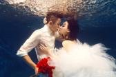 拍水下婚纱照的注意事项