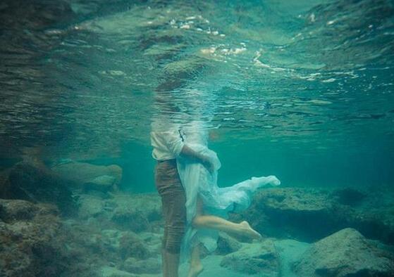水之爱恋 结婚照没有婚纱就做条美人鱼吧【6】