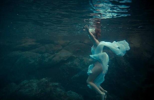水之爱恋 结婚照没有婚纱就做条美人鱼吧【2】
