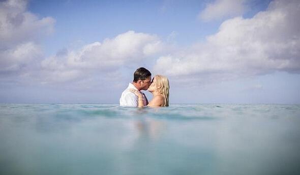 水之爱恋 结婚照没有婚纱就做条美人鱼吧【3】