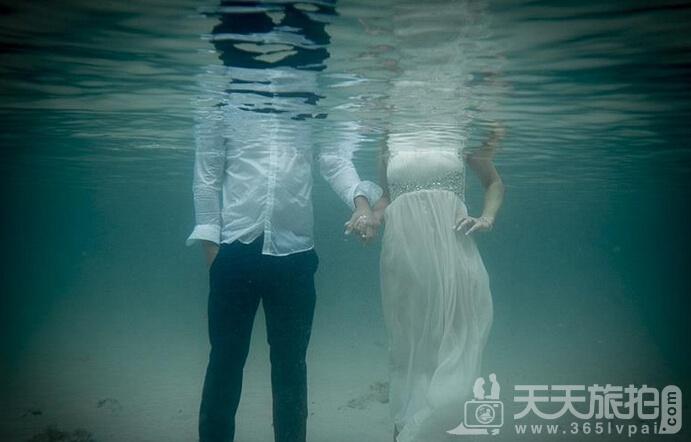 水之爱恋 结婚照没有婚纱就做条美人鱼吧【7】