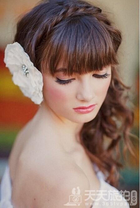 甜美可爱的日系新娘发型【3】