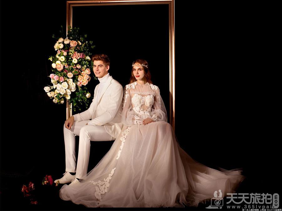 欧式婚纱照的特点 唯美高贵的欧式婚纱照