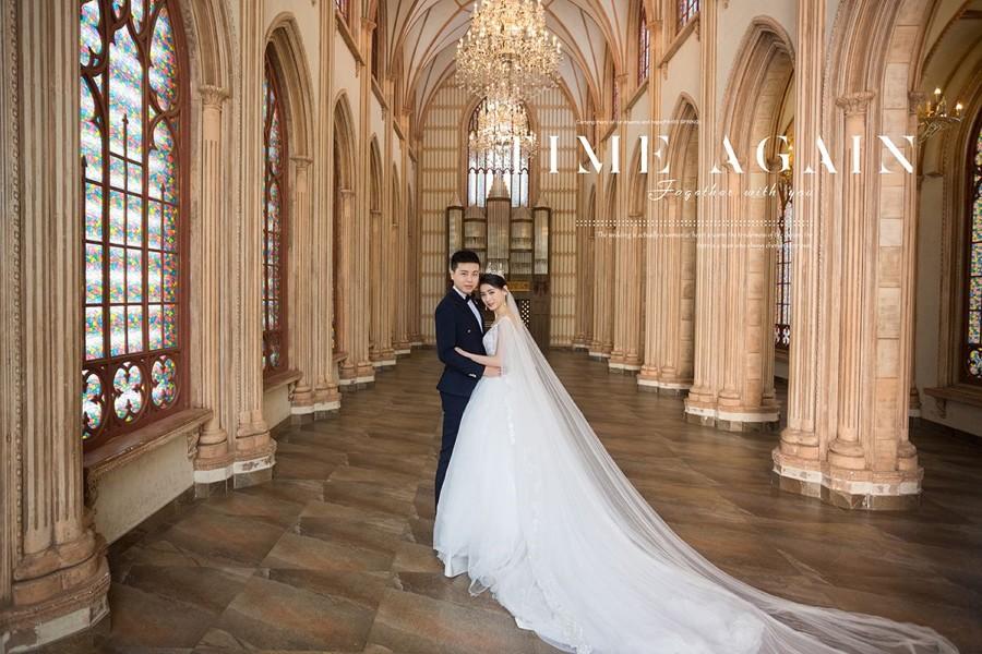 看看你适合哪种 七种婚纱照风格解析(婚纱照风格——欧式宫廷风)