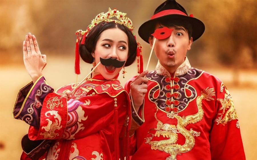 看看你适合哪种 七种婚纱照风格解析(婚纱照风格——中国古典)