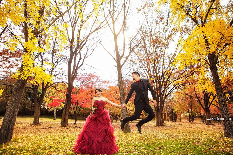 别浪费了秋季的绚烂景色 秋天婚纱照欣赏【13】