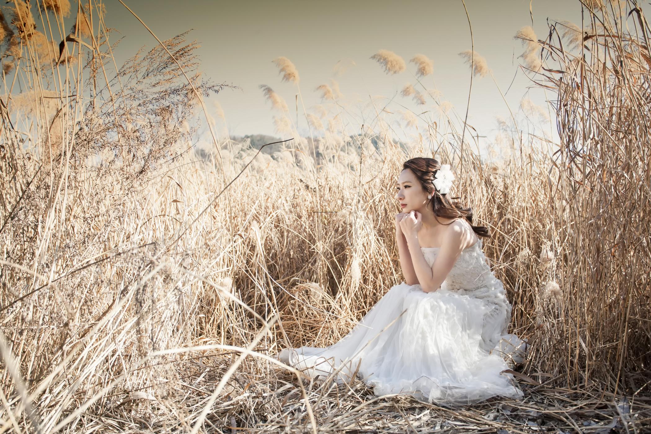 别浪费了秋季的绚烂景色 秋天婚纱照欣赏【20】