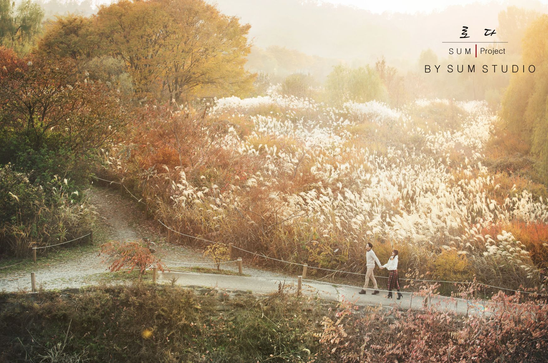 别浪费了秋季的绚烂景色 秋天婚纱照欣赏【22】