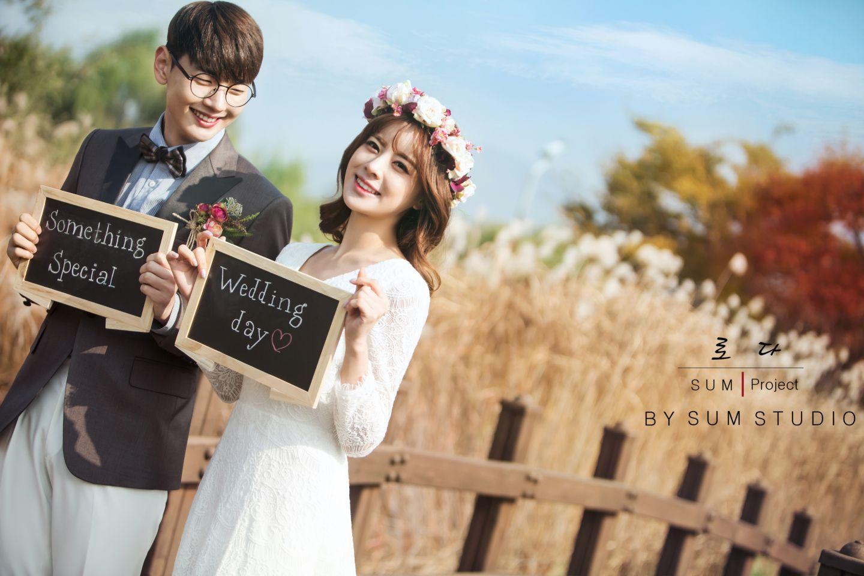 别浪费了秋季的绚烂景色 秋天婚纱照欣赏【24】