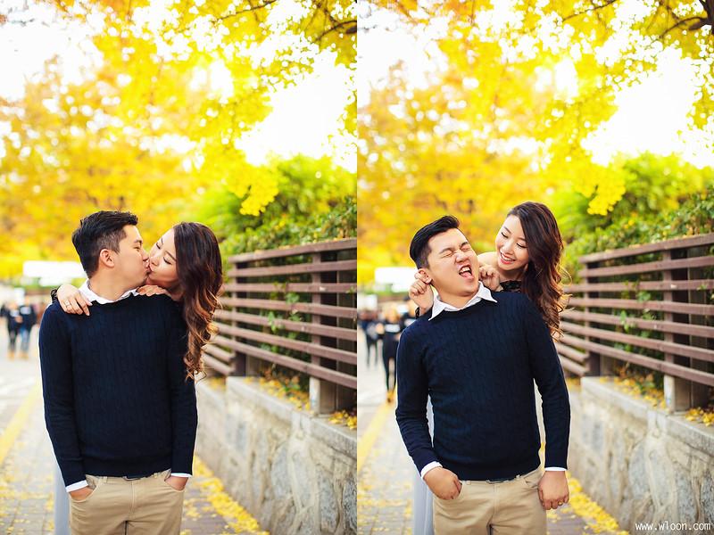 别浪费了秋季的绚烂景色 秋天婚纱照欣赏【26】