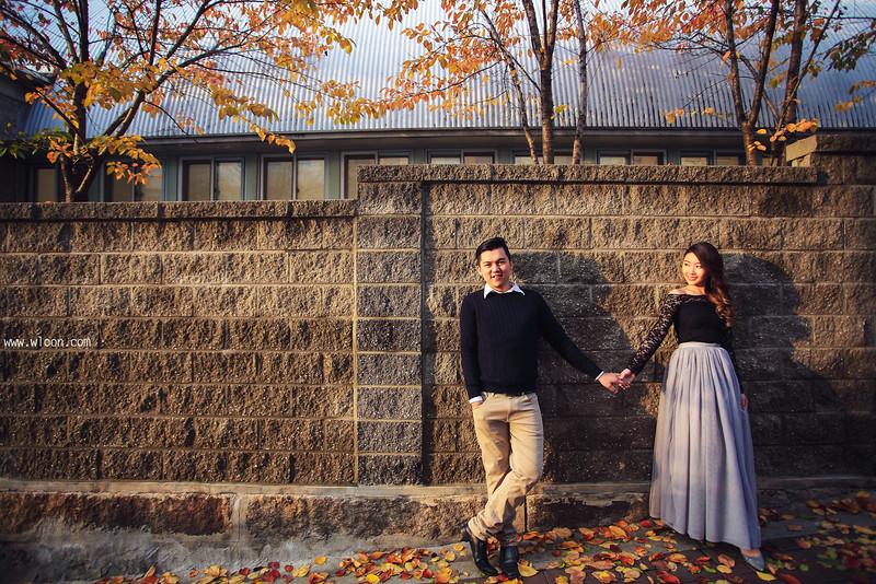 别浪费了秋季的绚烂景色 秋天婚纱照欣赏【27】